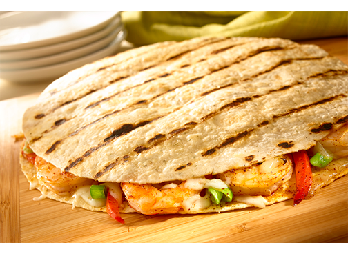 Toufayan Bakeries Chipotle Shrimp Quesadilla Wraps