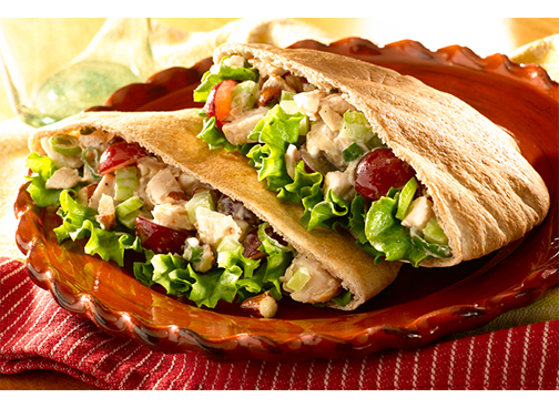 Toufayan Bakeries Napa Chicken Pita Salad