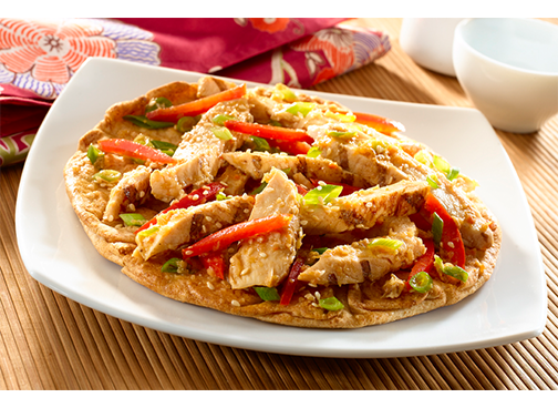 Toufayan Bakeries Sesame Ginger Chicken Flatbread